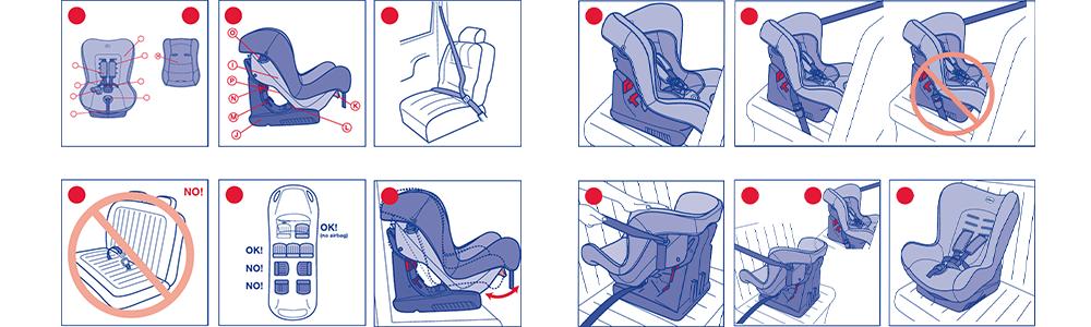 Особенности установки детской люльки в такси