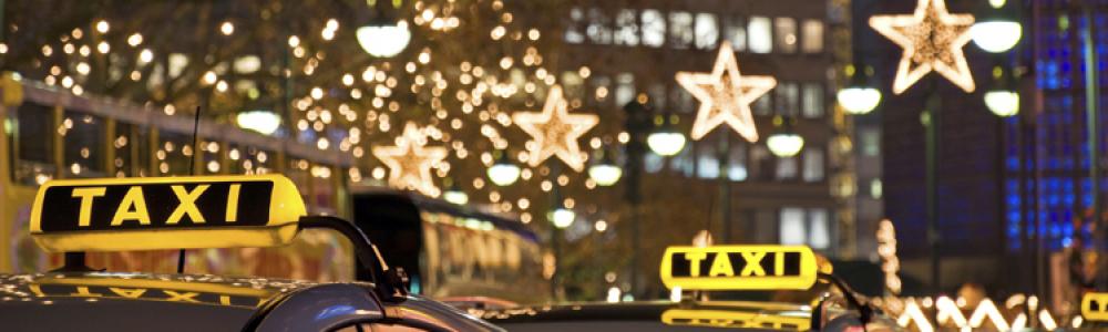 Такси в новогоднюю ночь