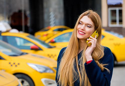 Заказать такси по телефону